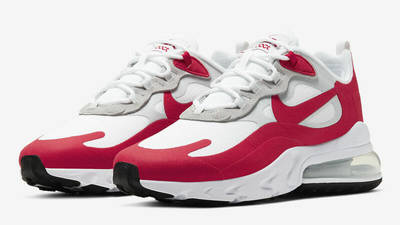 Nike Air Max 270 React White University Red Front