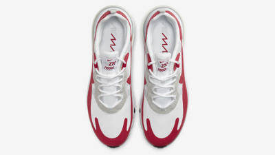 Nike Air Max 270 React White University Red Middle