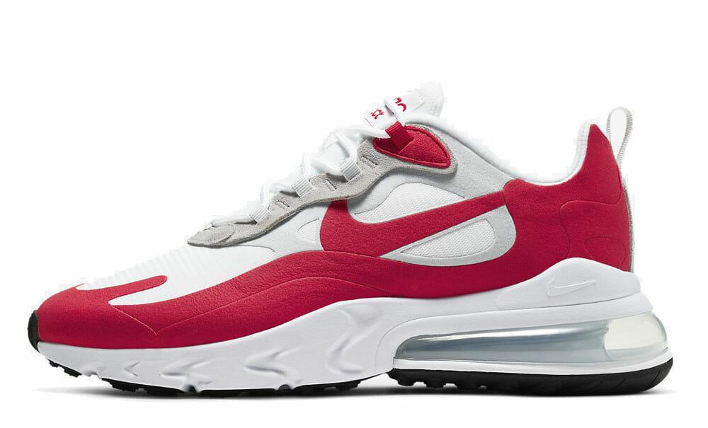 Nike Air Max 270 React White University