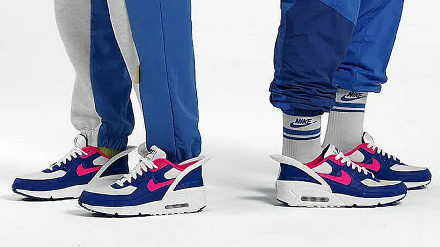Nike Air Max 90 FlyEase Royal Blue   Where To Buy   CU0814-101 ...
