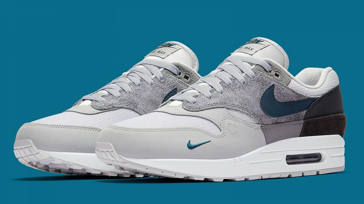Details about Nike Air Max 1 Premium Blue Gradient Toe