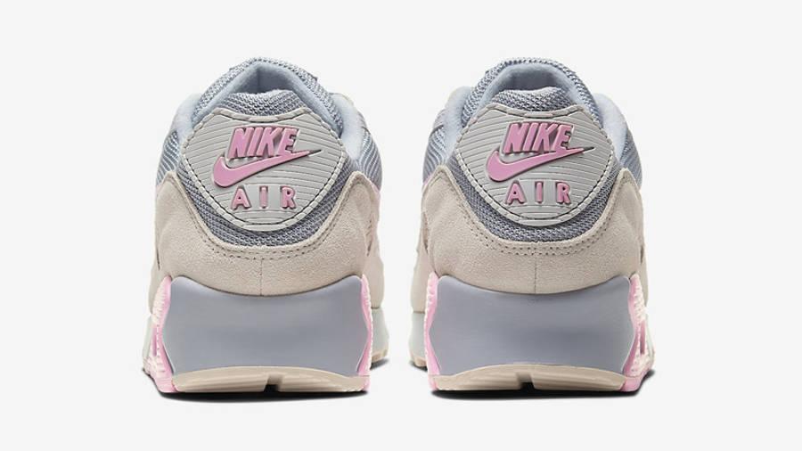 Nike Air Max 90 Vast Grey Pink Back