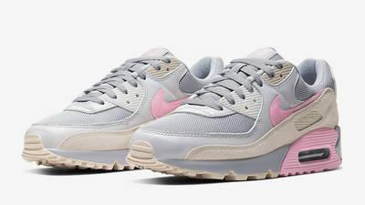 Nike Air Max 90 Vast Grey Pink Front