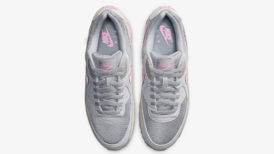 Nike Air Max 90 Vast Grey Pink Middle