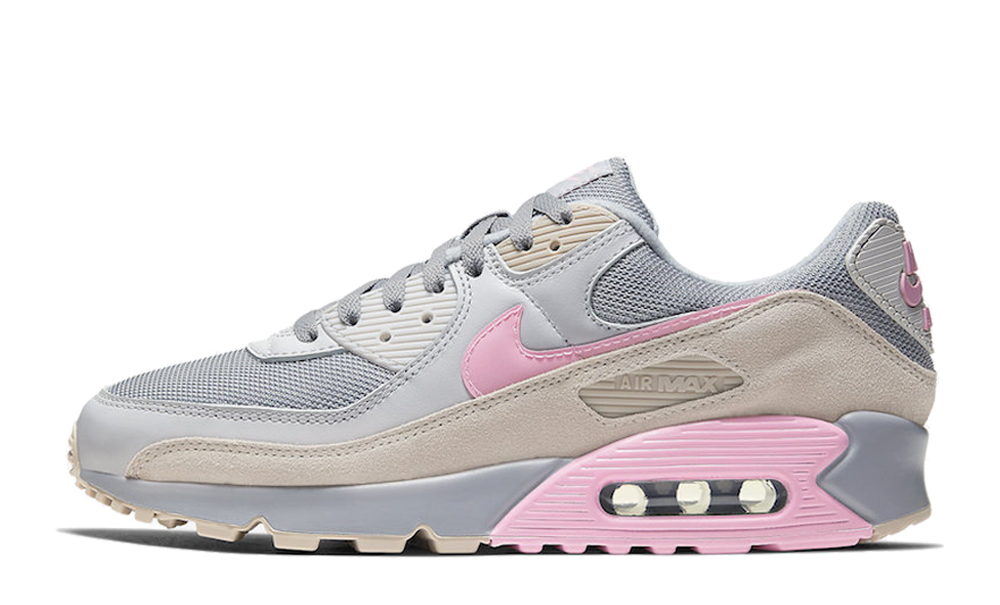Nike Air Max 90 Vast Grey Pink Where To Buy Cw7483 001 The Sole Supplier