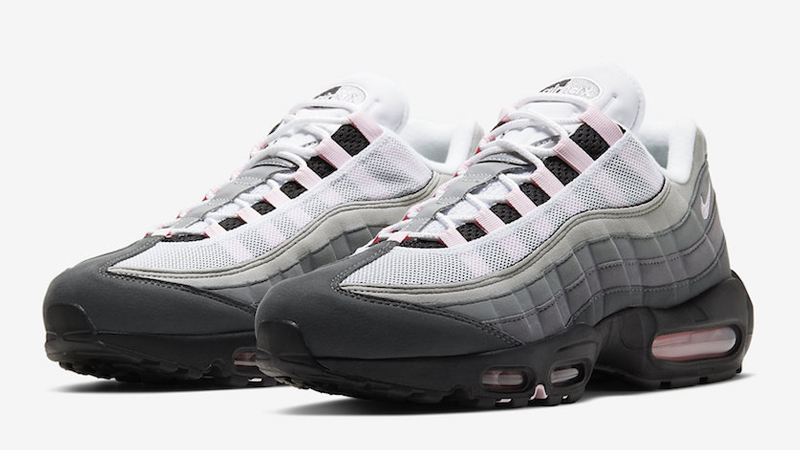 Nike Air Max 95 Premium Black Pink Foam