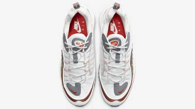 Nike Air Max 98 White Orange Middle