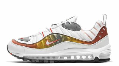 Nike Air Max 98 White Orange