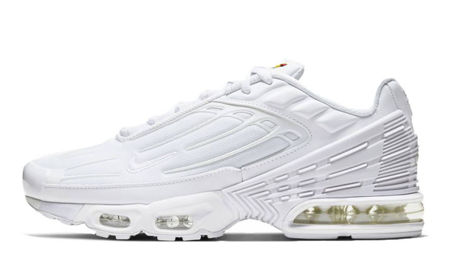 Panda Goma de dinero Rápido  Nike TN Air Max Plus 3 White Vast Grey | Where To Buy | CW1417-100 | The  Sole Supplier
