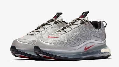 Nike MX-720-818 Metallic Silver Black Front