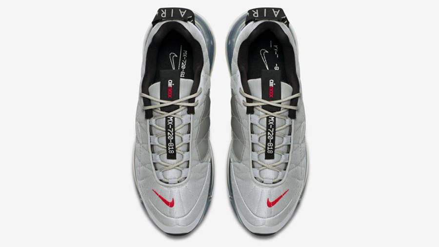 Nike MX-720-818 Metallic Silver Black Middle