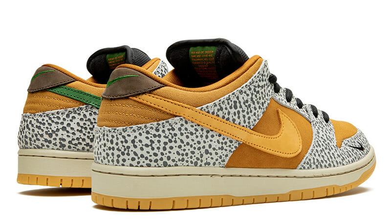 nike sb dunk low safari raffles