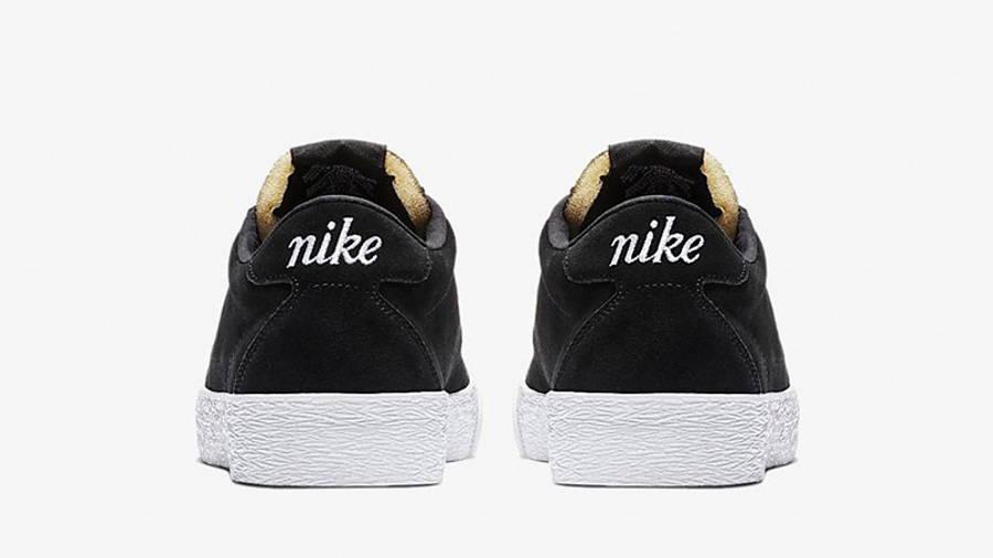 Nike SB Zoom Bruin Black White AQ7941-001 back
