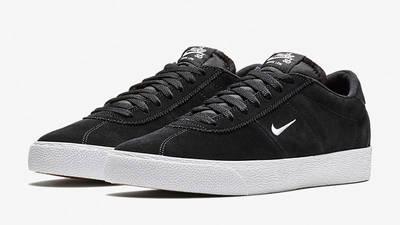 Nike SB Zoom Bruin Black White AQ7941-001 front