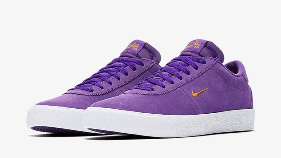 Nike SB Zoom Bruin Court Purple AQ7941-500 front