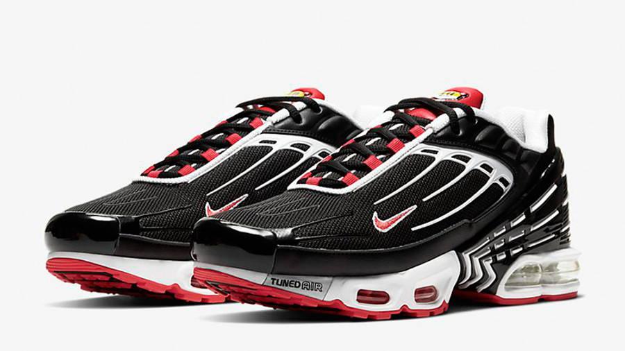 Nike TN Air Max Plus 3 Black Red   Where To Buy   CJ0601-001   The ...