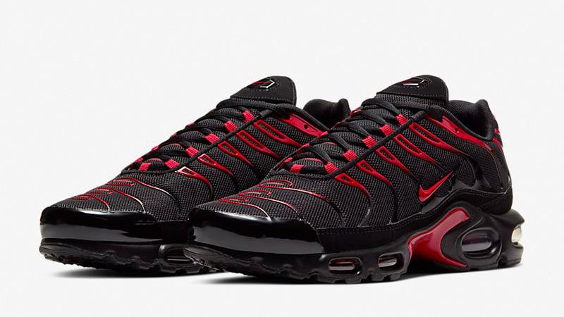 Nike TN Air Max Plus Black Red | Where