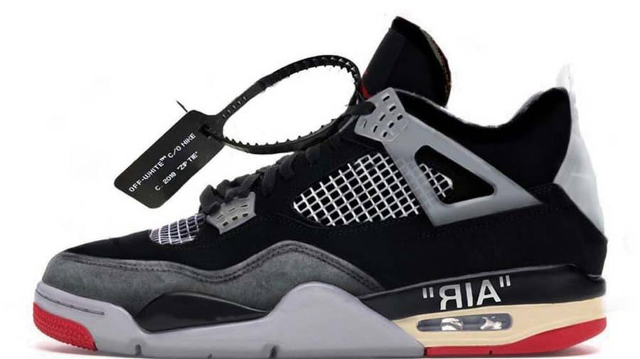 Off-White x Air Jordan 4 Bred | Where