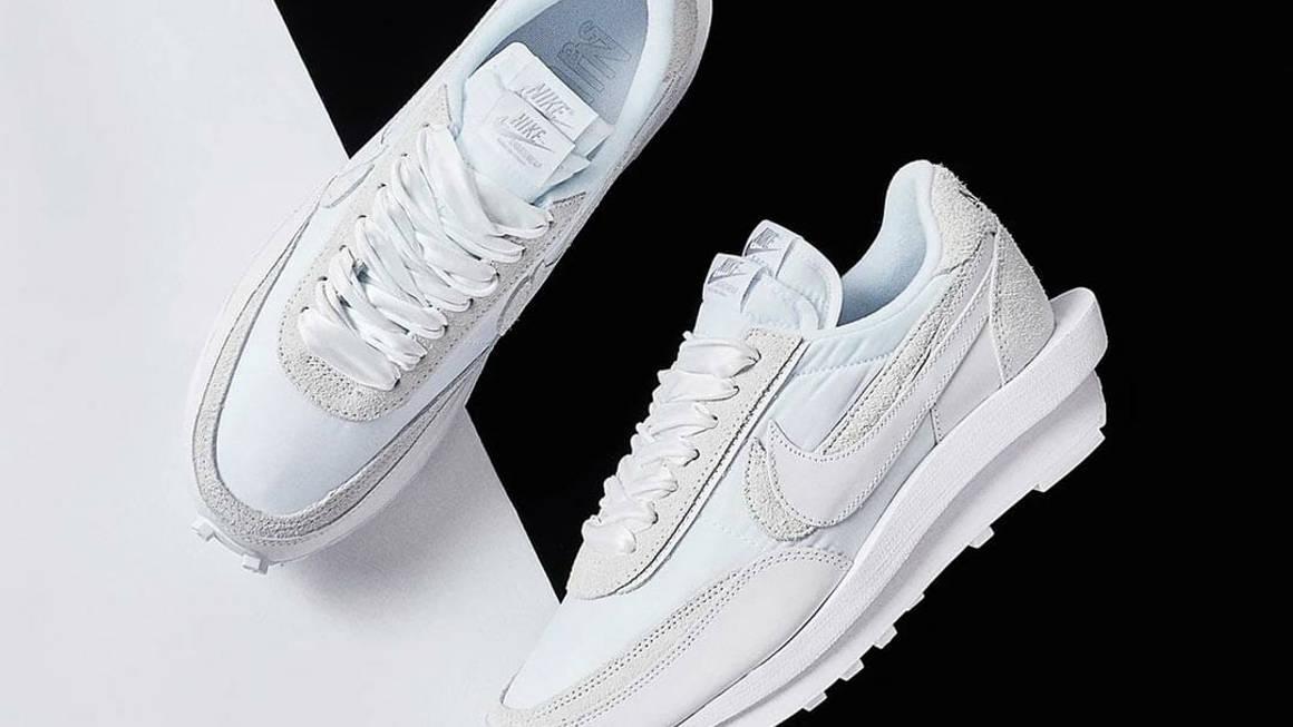 sacai x Nike LDWaffle White Nylon