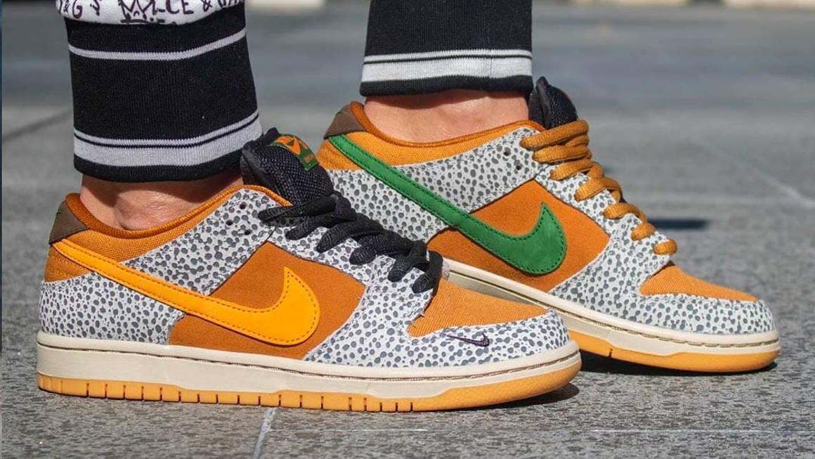 Nike SB Dunk Low Safari Raffles   The