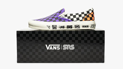 Sneakersnstuff x Vans OG Classic Slip-On LX Electric Purple Lifestyle