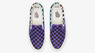 Sneakersnstuff x Vans OG Classic Slip-On LX Electric Purple Vn0a45jk01m middle