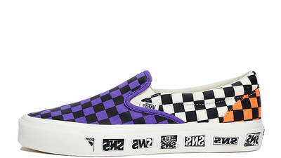 Sneakersnstuff x Vans OG Classic Slip-On LX Electric Purple Vn0a45jk01m