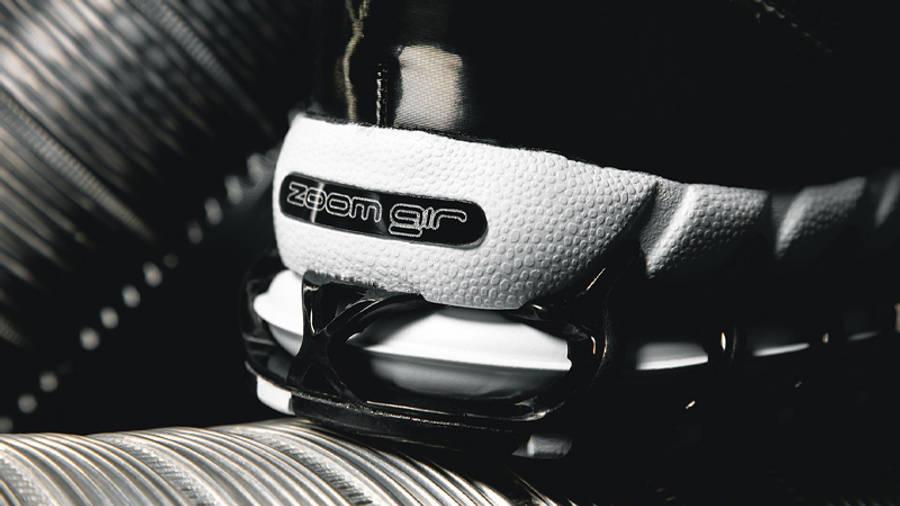 Stussy x Nike Air Zoom Spiridon Cage 2 Pure Platinum Lifestyle1