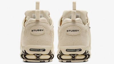 Stussy x Nike Air Zoom Spiridon Caged Fossil CQ5486-200 back