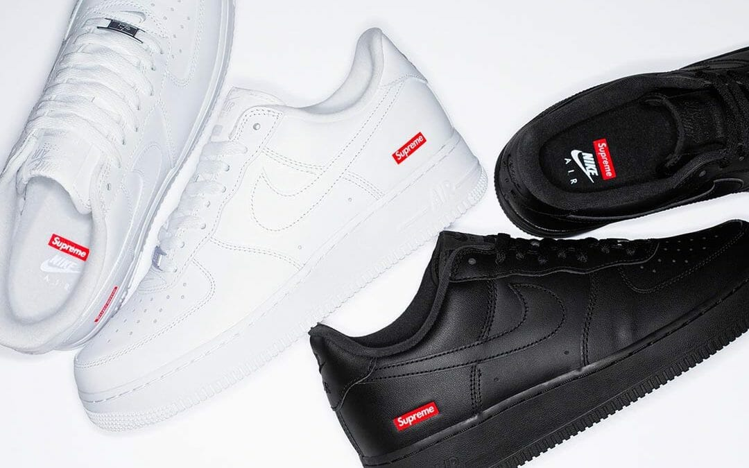 The Supreme x Nike Air Force 1 is Finally Releasing This
