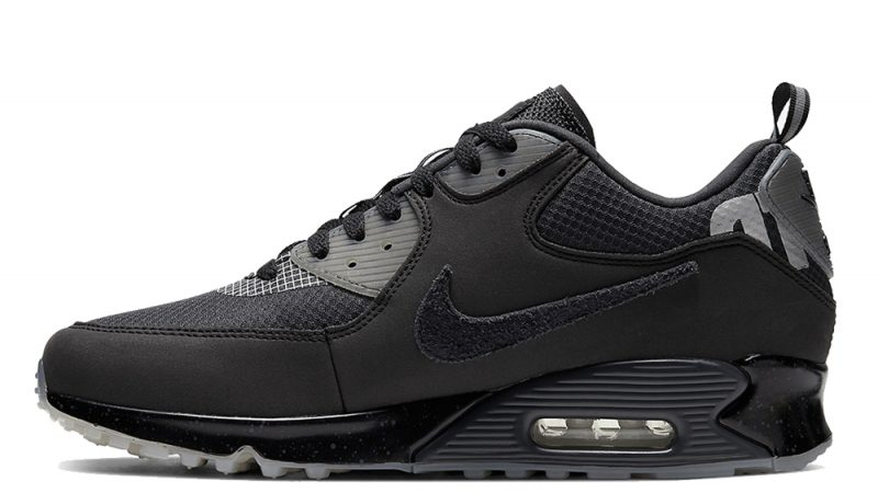 UNDEFEATED x Nike Air Max 90 Black Grey