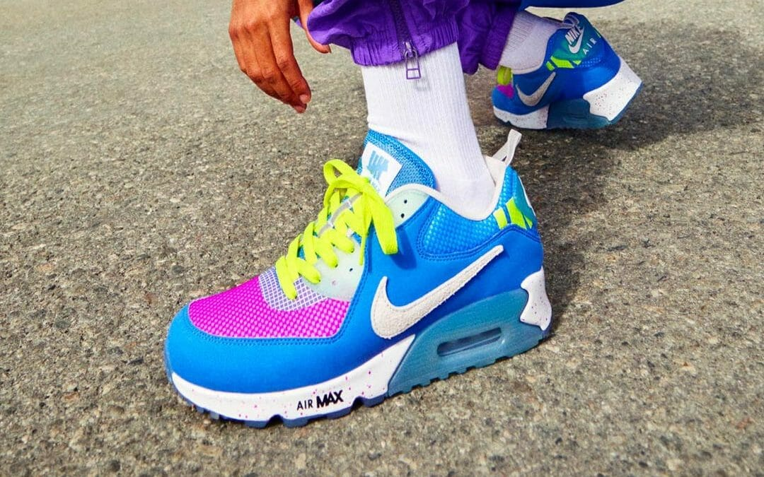 Release Reminder: Undefeated X Nike Air Max 90 Pacific Blue