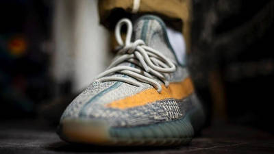 Yeezy Boost 350 V2 Israfil On Foot Front