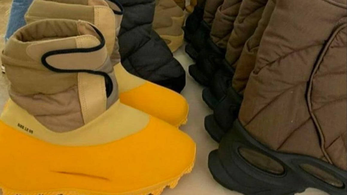 Kanye West's Yeezy Season 8 Is Experimental Footwear At Its Finest
