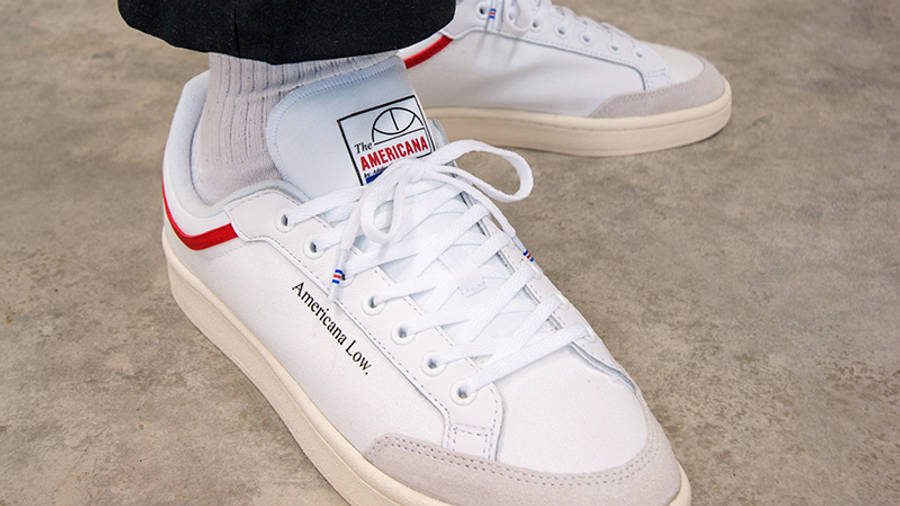 adidas Americana Low White EF6385 front