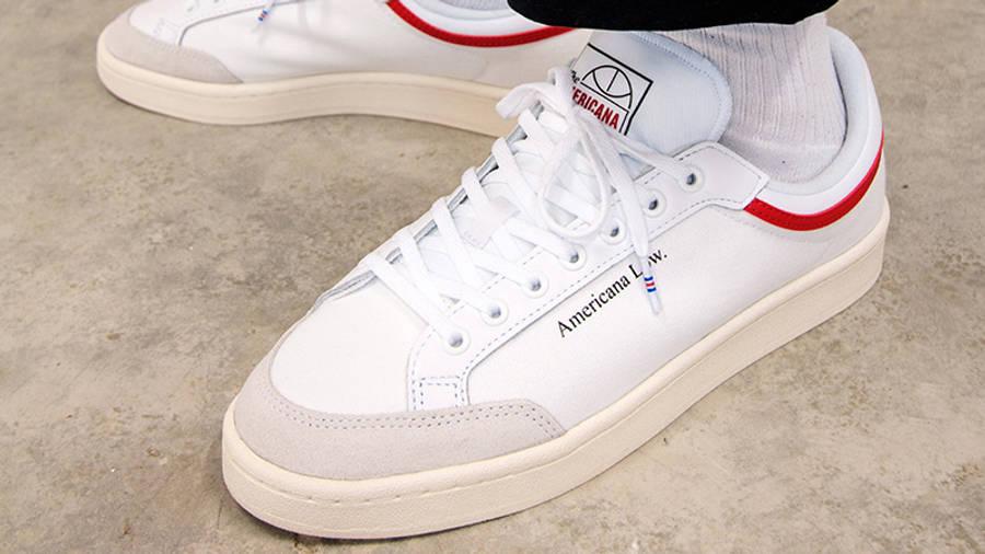 adidas Americana Low White EF6385 side