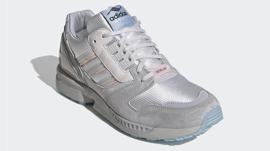 adidas ZX 8000 Kirschblütenallee Grey Front