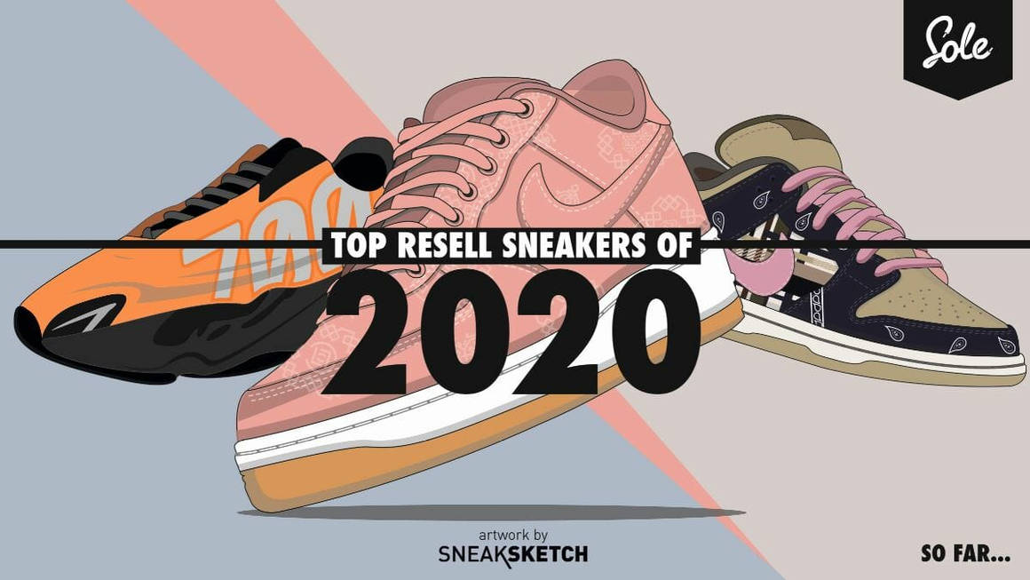 The Top 10 Resell Sneakers of 2020 So