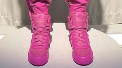 AMBUSH x Nike Dunk High Lethal Pink CU7544 600 middle