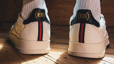 Extra Butter x adidas SC Premiere White On Foot Back