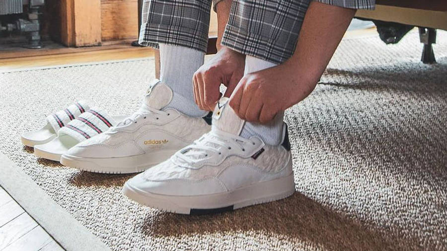 Extra Butter x adidas SC Premiere White On Foot2