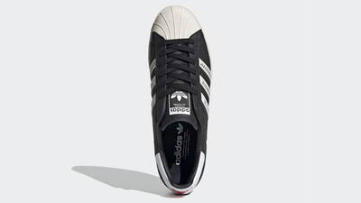 Human Made x adidas Superstar Black White Middle