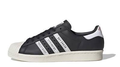 Human Made x adidas Superstar Black White