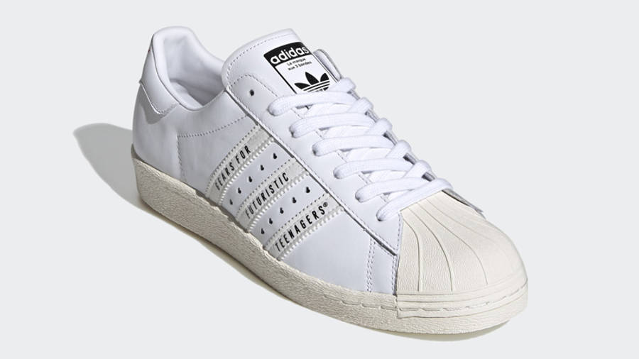 Human Made x adidas Superstar White Front