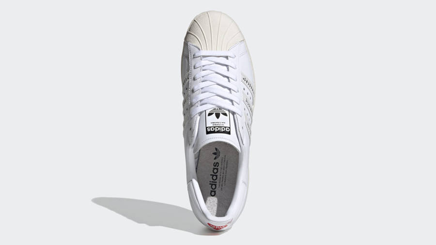 Human Made x adidas Superstar White Middle