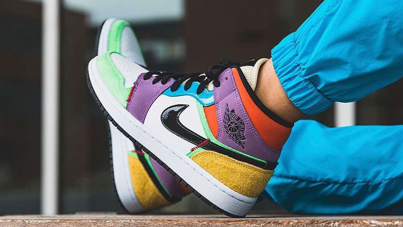 Jordan 1 Mid SE Multicolor   Where To