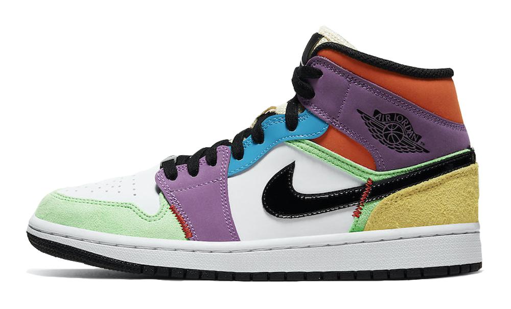 Jordan 1 Mid SE Multicolor