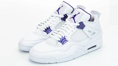 Jordan 4 Court Purple front