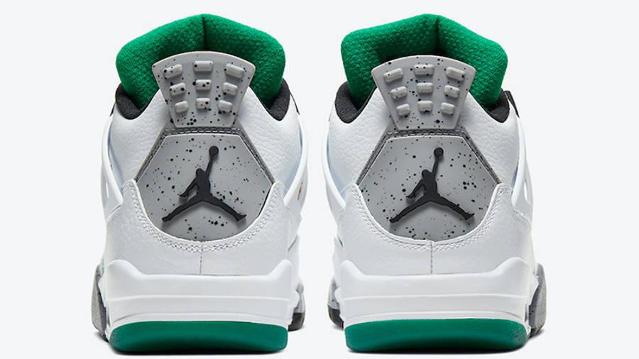 Jordan 4 Rasta AQ9129-100 back