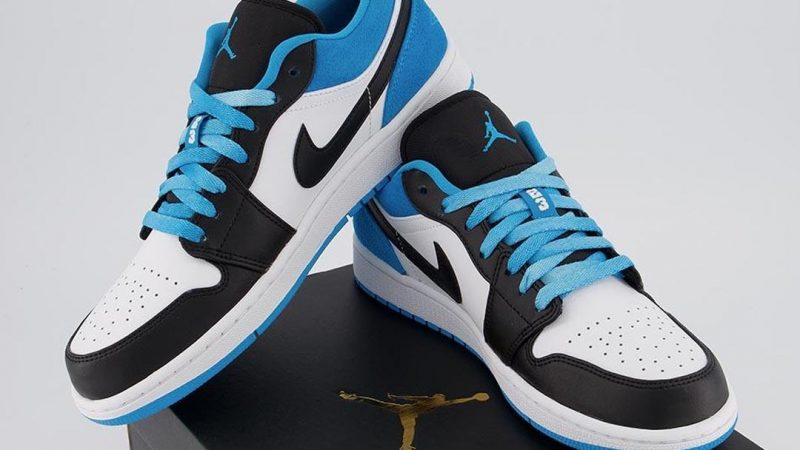 Take 20 Off The Brand New Air Jordan 1 Low Se Laser Blue The